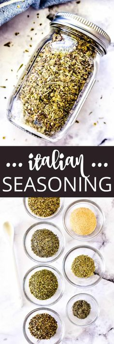 Italian Seasoning – Lemon Tree Dwelling Seasoning Mixes, Italian Seasoning, Italian Dishes, Italian Recipes, Easy Dinner Recipes, Dessert Recipes, Dinner Ideas, Slow Cooker Recipes, Cooking Recipes