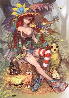 Anime, girl, cute, artistic, fantasy,10322752_789584461065774_6652156439457575868_n.jpg (678×960)