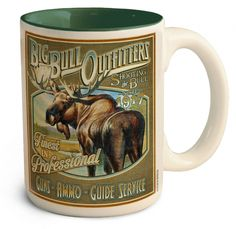 Big Bull Outfitters Large Coffee Mug - American Expedition