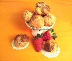 Bigne' home made ripieni di mousse alla nutella