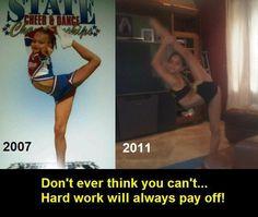 Hard Work pays off! Gabi Butler has proven this #sotrue! Ok im done posting gabi butler pix lol