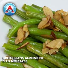 Green Beans with almonds.