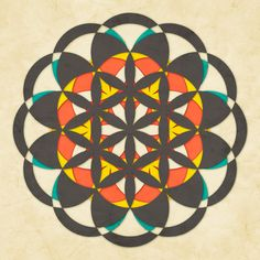 Sacred Geometry: The Flower of life #8 Art Print by Jazzberry Blue