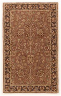 Traditional Classics - Rust Medium Rug