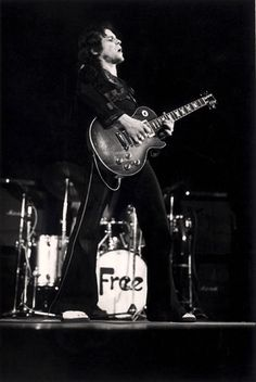 Paul Kossoff, guitar player for the band Free.