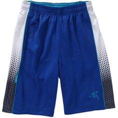 AND1 Boys' Infinite II Boys Basketball Short, Size: 4/5, Blue