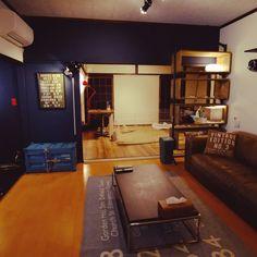 69sora69さんの、部屋全体,DIY,平屋,ノットアンティークス,うさぎと暮らす,クラッシュゲート,ブルーのペンキ,たまんなく楽しい,のお部屋写真