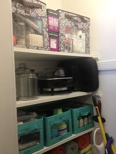 """Thank you for helping a nesting mom organize one closet so far!"""