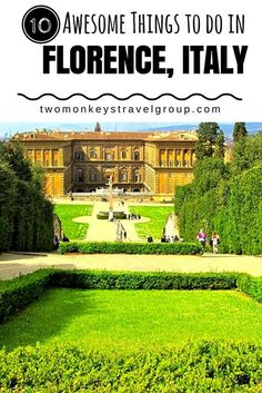 10 Awesome Things To Do In Florence, Italy A Trip To Florence Is A Dream-Come-True. This Historic Italian City Is Overflowing With Classic Art, Intriguing Architecture, Beautiful Views, And Delectable Cuisine. Regardless of whether You Visit For A Weekend Sorrento Italy, Sicily Italy, Naples Italy, Toscana Italy, Capri Italy, Venice Italy, Tuscany, European Vacation, Italy Vacation