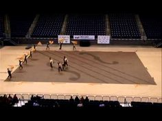 2013 Notre Dame College Indoor Color Guard WGI Mid-East Championship Fin...