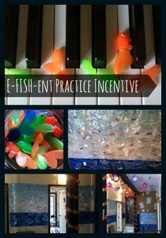 An E-FISH-ent Piano Practice Incentive. This 3 week long incentive program will get your piano students practicing. It focuses on helping your students to develop efficient practice habits (rather than simply focusing on minutes or days practiced).  If you're looking for a fun way to boost practice time before your winter recital, read on for how to implement it in your studio! | via @teach #music #teach #tool