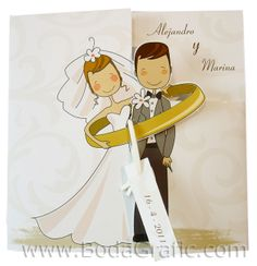 Illustrated Wedding Invitations, Creative Wedding Invitations, Sunflower Wedding Decorations, Wedding Cards, Wedding Day, Engagement Cards, Art N Craft, Ideas Para Fiestas, Logo Inspiration