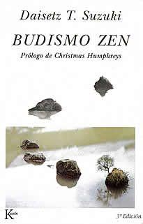 Budismo zen de Daisetz T.Suzuki editado por Kairós.El presente libro contiene, aparte los textos directamente relacionados: desde el budismoMahayana hasta los discursos de Rinzai, pasando por el arte y la cultura japonesa.Como suele ser en él costumbre, el Dr. Suzuki transmite su enseñanza de manera enérgica y lúcida. En este sentido, Budismo Zen es un libro que ha de interesar tanto a los profanos como a los entendidos.