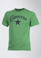 Converse Round Neck Printed Men's T-shirt: T-Shirt