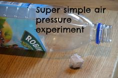 Easy and impressive air pressure experiment