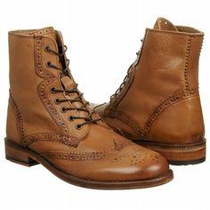 Men\'s Ben Sherman Arista Brogue Boot Tan