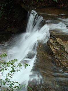 ~ Beautiful North Carolina Waterfall in Chimney Rock Park ~