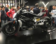 """Justin Vogel on Instagram: """"Ducati's new XDIAVEL.. So many ideas for new products when they hit the market! @ducatimotor @ducatiusa #newragecycles #ducati #eicma2015 #xdiavel #bikersofinstagram #ducatista #Ducati2016 #ducatilive #ducatisofinstagram #eicma #milan #italy #iducati"""""""