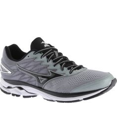 Stay active with Mizuno s Wave Rider 20 Running Shoe for men. With softer  cushioning and an enhanced responsive feel c2b2c876882fc