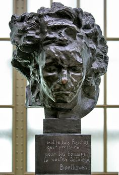 Beethoven (1902), Émile Antoine Bourdelle Modern Sculpture, Sculpture Clay, Sculpture Portrait, Sculpture Ideas, Auguste Rodin, Antoine Bourdelle, Classical Music, Les Oeuvres, Amazing Art