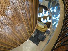 Admiral Semmes Hotel Mobile AL designed by: Flick Mars #lighting #interior #design