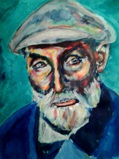 Auguste Renoir that I admire and think he got a very interesting face