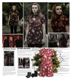 """""""Holland Roden as Lydia Martin. {Teen Wolf 6.06 Goshted}"""" by albacampbell ❤ liked on Polyvore featuring Lush, H&M and Vince Camuto"""