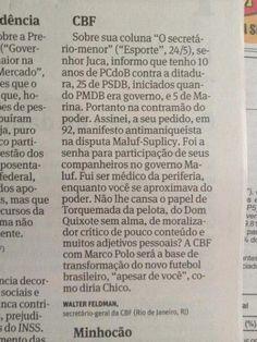 BLOG DO IRINEU MESSIAS: Globo levou 24 anos para descobrir Havelange, Teix...