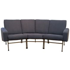 Pierre Guariche - Sofa | From a unique collection of antique and modern sofas at http://www.1stdibs.com/furniture/seating/sofas/