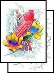koi Tattoos, japanese Tattoos, oriental Tattoos, asian Tattoos, creature Tattoos, sea-creature Tattoos, seacreature Tattoos, sea Tattoos, creature Tattoos, ocean Tattoos, fish Tattoos, fins Tattoos, catfish  Tattoos,