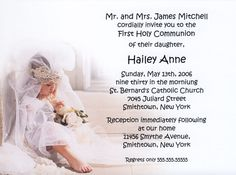 First Holy Communion Invitation Wordings - Collegio Sanlorenzo Template Holy Communion Invitations, Free Printable Birthday Invitations, Printable Invitation Templates, Wedding Invitation Text, Business Invitation, Invitation Wording, Ninja Turtle Invitations, Mickey Mouse Invitation, Wedding Phrases