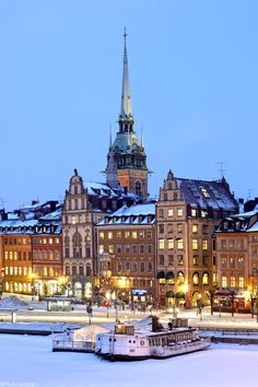 Stockholm, Sweden. I'm seriously in love with this city.