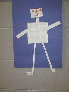 Perimeter and Area Robots