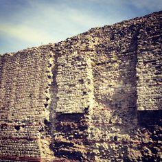 Roman Walls Londinium (England, Europe)