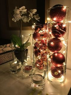 Waterproof LED String Fairy Lights Artificial fir tree as Christmas decoration? A synthetic Christmas Tree or even a real one? Winter Christmas, All Things Christmas, Classy Christmas, Christmas 2019, Christmas Porch, Prim Christmas, Christmas Vacation, Christmas Stairs, Amazon Christmas