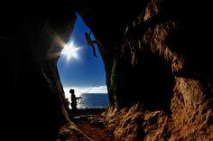 arrampicare a san vito lo capo - Cala Mancina