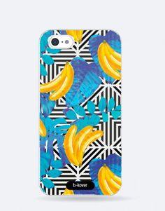 funda-movil-full-tropical-bananas Bananas, Phone Cases, See Through, Tropical Prints, Mobile Cases, Banana, Fanny Pack, Phone Case