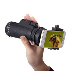 Universal Telescope Phone Lens 10X Optical Zoom. #affiliate