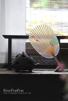 Japanese paper fan, Uchiwa 団扇