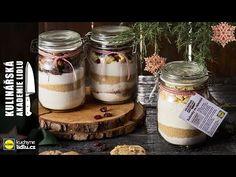 Sušenky ve sklenici - Roman Paulus - Kulinářská Akademie Lidlu Lidl, Advent, Roman, Mason Jars, Youtube, Gifts, Ideas, Presents, Mason Jar