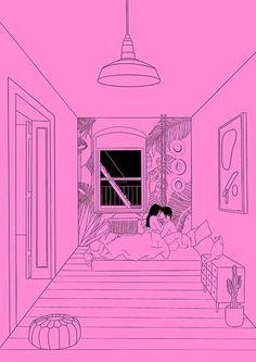 Erotic illustrations by Alicia Rihko. Sexy Drawings, Art Drawings Sketches, Stoner Art, Romance Art, Cute Couple Art, Dibujos Cute, Love Illustration, Aesthetic Art, Erotic Art