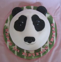 Panda for a first birthday