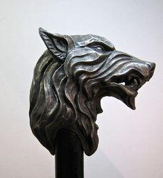 Lobo huargo caña