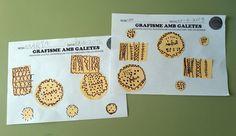 tresquatreicinc: GRAFISMES AMB GALETES Bread, Public, Blog, School, Classroom, Fresco, Brot, Blogging, Baking