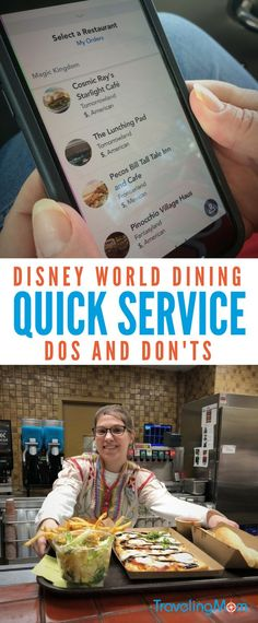 Do's and Don'ts of Disney Quick Service Dining