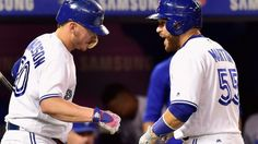 Russell Martin powers Jays to 3rd straight win