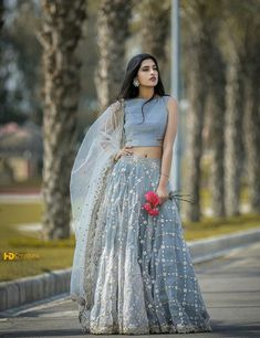 Designer Lehengas Choli and ghagra choli on sale at vivahfashion shop online latest collections lehengas designs in various styles colors patterns in India Indian Lehenga, Lehenga Choli, Sari, Silk Dupatta, Indian Wedding Outfits, Indian Outfits, Eid Outfits, Indian Clothes, Bridal Outfits