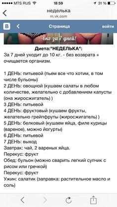 Диета Неделька Отзывы.