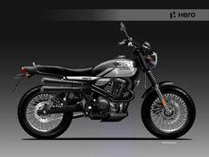 Motorcycle Design, Classic Series, Automotive Design, Hero, Product Design, Vehicles, Illustration, Behance, Cafe Racers