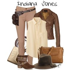 """Indiana Jones"" by rubytyra on Polyvore"